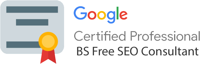 google certified no bs consultant