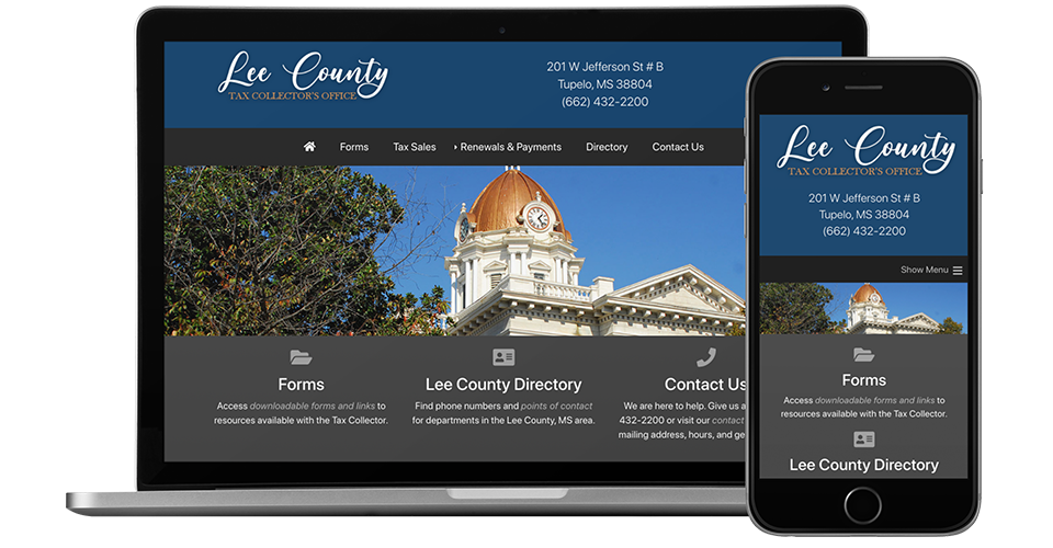Municipality website designers