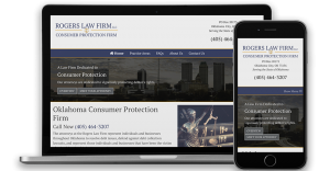Legal Services website designers